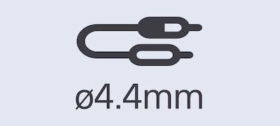 Cablu de conectare echilibrat de 4,4 mm