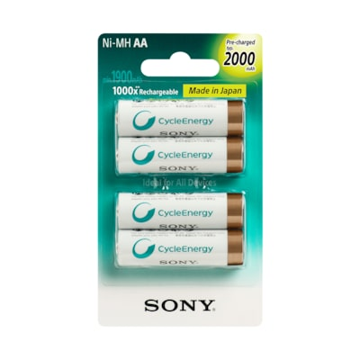 Picture of Multi-Use Premium Rechargeable Batteries (AA or AAA)
