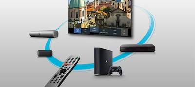 Łatwa obsługa dzięki funkcji smart remote