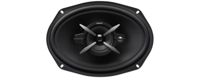 "Images of 16x24cm (6x9"") 3-Way Coaxial Speakers"