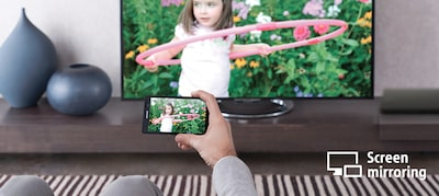 Sharing media is easy with Miracast™