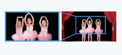 Khả năng chụp zoom rộng