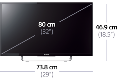 full hd led television tv with bluetooth w70 sony uk. Black Bedroom Furniture Sets. Home Design Ideas