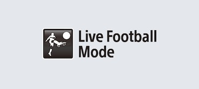 Live Football mode: for all football addicts