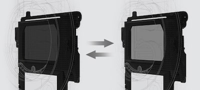 Sony's powerful electronic Variable ND Filter built in