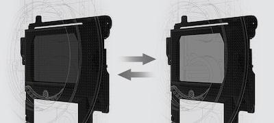 Tích hợp sẵn Kính lọc ND điện tử linh hoạt mạnh mẽ của Sony