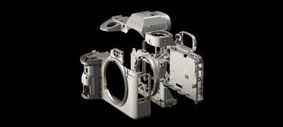 ตัวกล้องแมกนีเซียมอัลลอยที่แข็งแกร่ง
