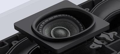 Up-firing speakers