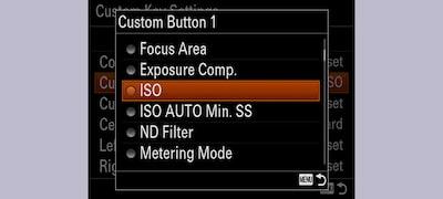 Custom button creative convenience