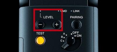 Direct light level control