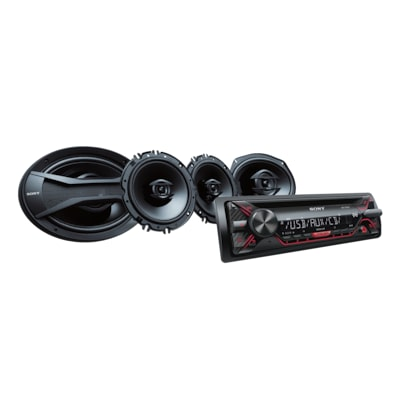 "Picture of CD Receiver with 16cm/6x9"" Speakers"