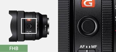 Customizable focus hold button