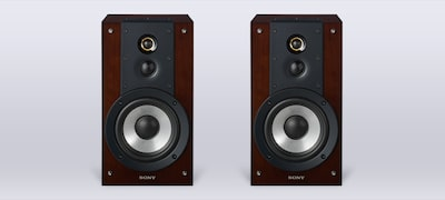 3-way speaker system for all-encompassing sound