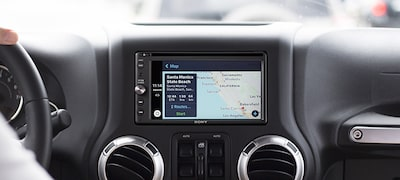 Navigating with Apple CarPlay