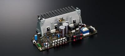 Amplificador de potencia para una distorsión mínima