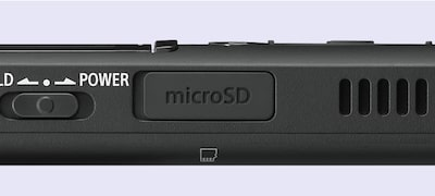 Boost your storage with microSD