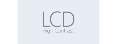 LCD High Contrast-icoon