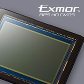 Senzor Exmor APS HD CMOS de 24,3 MP