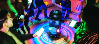 Enhance the experience with Party Light via Fiestable