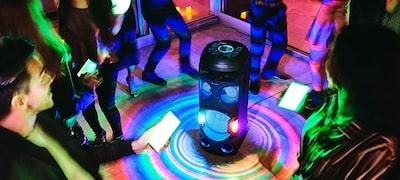 Fokozza az élményt a Fiestable alkalmazás Party Light funkciójával