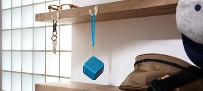 Silicone strap included
