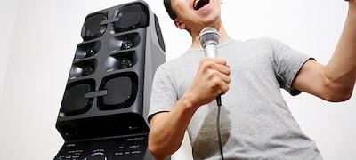 Τραγουδήστε με τη λειτουργία καραόκε