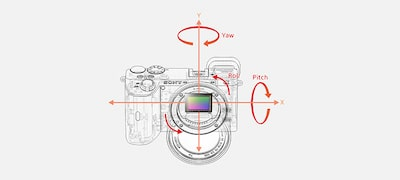 Built-in 5-axis optical image stabilisation