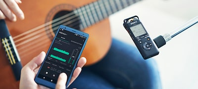 REC Remote for easy smartphone control