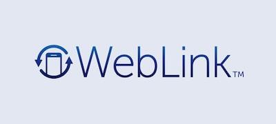 WebLink™ Cast mirrors your smartphone contents