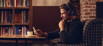 Enjoy music as the artist intended with High-Resolution Audio