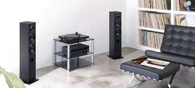 Sonido equiparable al de los tocadiscos PS-HX500 y PS-LX300USB
