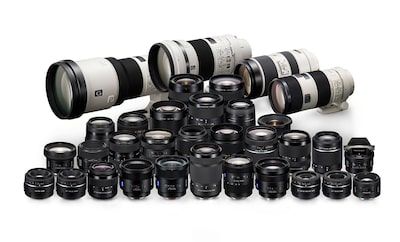 A-mount lens for every occasion