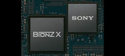 Motor de procesare a imaginii BIONZ X de mare viteză mare