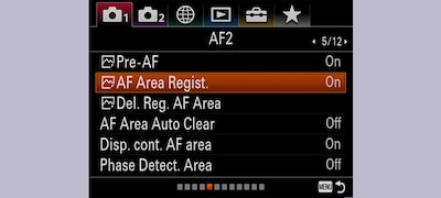 Focus Area Registration