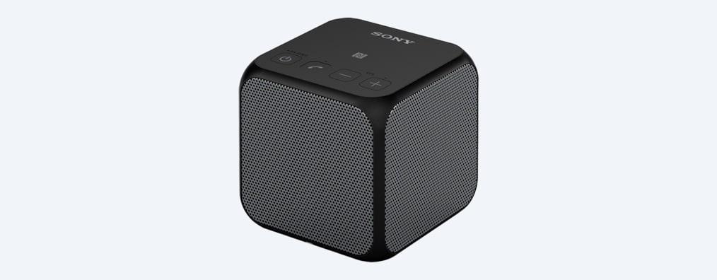 tragbarer bluetooth mini lautsprecher srs x11 sony at. Black Bedroom Furniture Sets. Home Design Ideas
