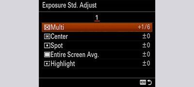 Exposure Standard Adjustment