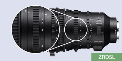 High-level, versatile zoom control