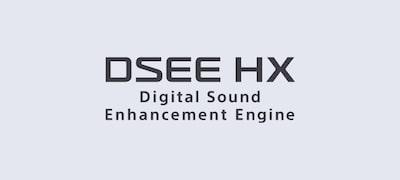 DSEE HX™ คืนคุณภาพให้กับไฟล์เพลงของคุณ
