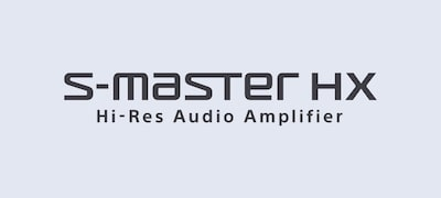 S-Master HX™ delivers High-Resolution audio in maximum quality