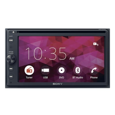 "Picture of 6.4"" (16.3 cm) DVD receiver with BLUETOOTH®"