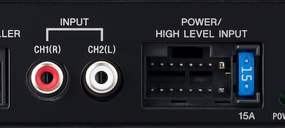 High level input/Audio line input