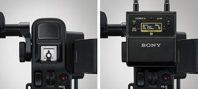 Dual XLR inputs and enhanced audio capability