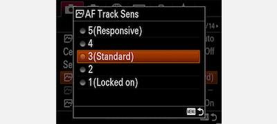 Comodidad de enfoque automático total