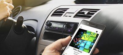 Az AOA 2.0 protokoll révén az okostelefonos alkalmazásokból játszhat le zenét