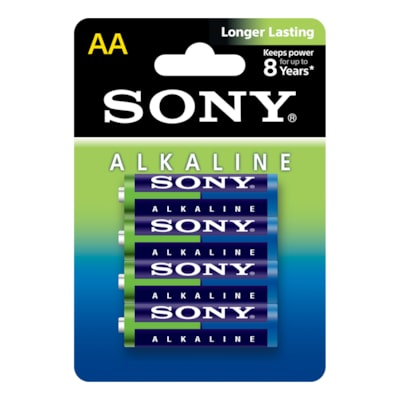 Picture of Alkaline Blue Batteries - Size AA-