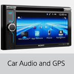car audio and gps