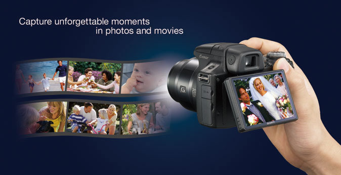 Capture unforgettable moments in photos and movies